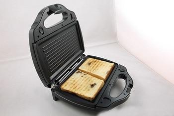 220V Safety Adjustable Temperature Contral Sandwich Maker 220V Home Use Electric Waffle Maker Machine Kitchen Appliance tools