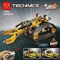 Hot Technic Con Mando A Distancia-Volov L350F cargadora de ruedas lepins compatible con lego42030 vehicle Engineering building block juguetes