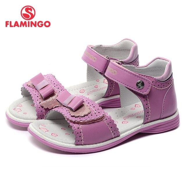 Flamingo известный бренд 2017 новых прибытия весенние и летние дети мода высокого качества сандалии для девочек 71s-hl-0242/71s-hl-0243
