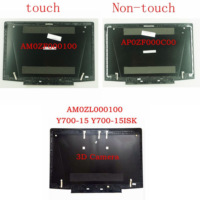 GZEELE New For Lenovo For Ideapad Y700-15 Y700-15ISK Y700-15ACZ LCD Back Cover 15