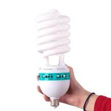 250W 5500K 220V Photo Lighting Studio Video Daylight Lamp E27 Bulb for Photographic Strobe light