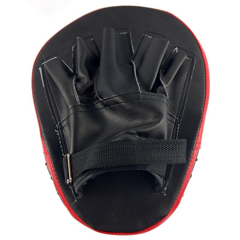 Punching Bag & Sand Bag 1 Pcs Kick Boxing Strike Curved Arm Pad Mma Focus Muay Thai Punch Shield Kicking Target Fitness & Body Building