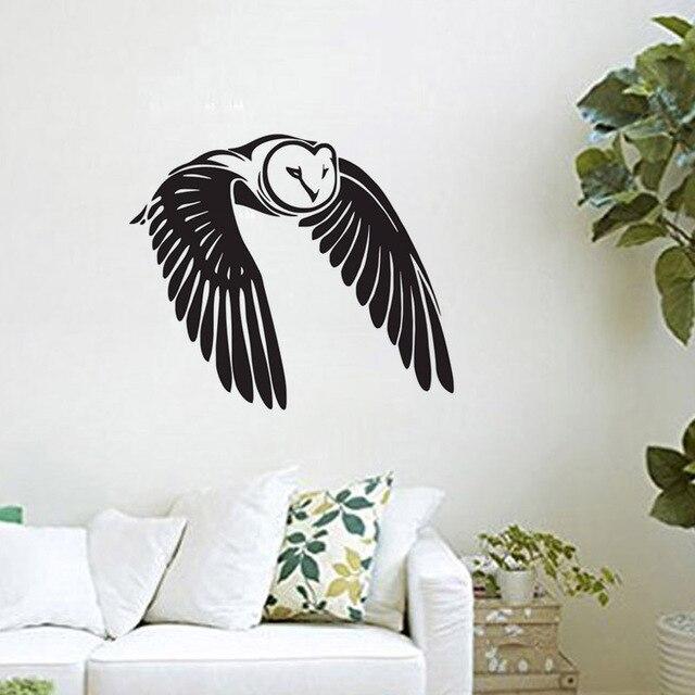 Fliegende Vogel Wandaufkleber Eule Vinylkunst Wand Wand Dekorative Aufkleber  Kindergarten Kinder Schlafzimmer Wand Aufkleber Design