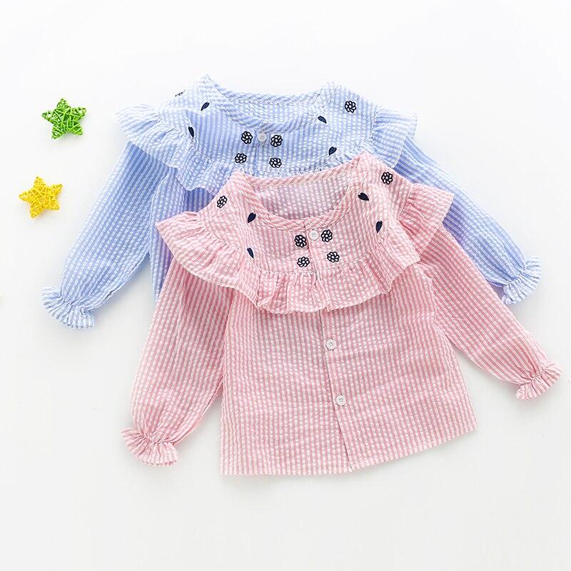 MMHSY 2017 dziewczęce ubrania słodkie koszula dzieci dziecko - Ubrania dziecięce - Zdjęcie 2