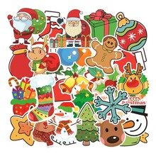 Stickers Kids Toys Laptop Christmas Sticker Toys for Children Skateboard Luggage Graffiti Waterproof Stickers Pack 101pcs/Lot(China)