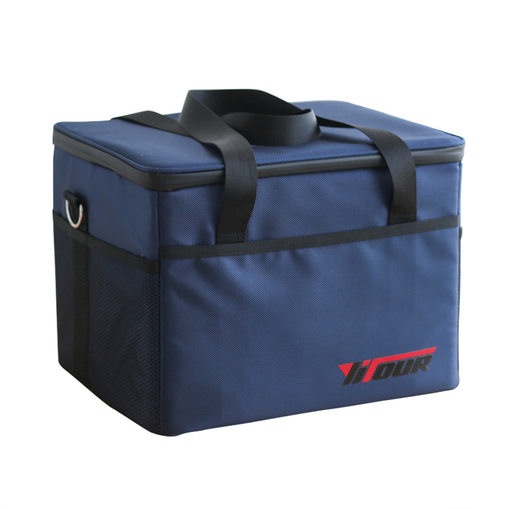 28L Oxford Waterproof Thickening Cooler Bag Ice Pack Insulated Lunch Bag Cold Storage Bags Fresh Food Picnic Container