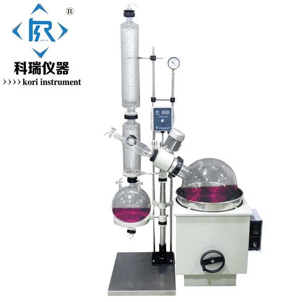 RE2003 Vacuum distillation apparatus /pharmaceutical rotary evaporator with SUS304 Heating Water/Oil Bath Laboratory Equipment new style re 2000b automatic lift up lab scale mini vacuum rotary evaporator with speed