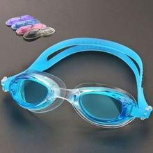 Профессиональные детские очки для плавания анти туман УФ цветные