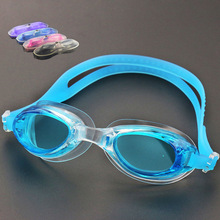 Professional Child Swimming Goggles Anti-fog Swimming Child Eyewear UV Colored Lens Adjustable Diving Swim Goggles