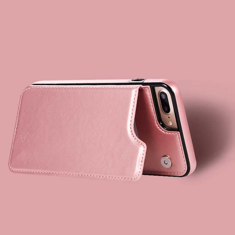 高級財布カバー Fundas iphone 11 プロマックスソフトシリコンケース iphone 5 5s 、 se 6 6s 8 7 プラス X XR XS 最大電話ケース Capinha シェル