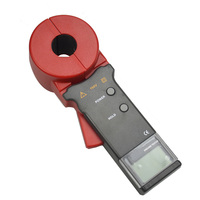 Digital Clamp On Ground Earth Resistance Tester Meter / Clamp Earth Resistance Tester
