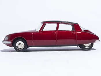 Dinky Toys 530 1:43 Atlas CITROEN DS 23 red Metal Alloy Diecast Car model & Toys Model for Collection new year gift lp770 upgrade package 1 18 metal model car collection toys luxury diecast decoration alloy metal static present
