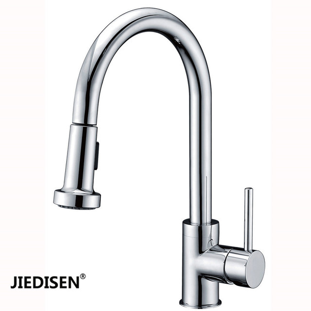 manufacturers selling all copper smoked pull kitchen faucet cold and rh aliexpress com