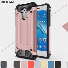 Броня чехол для Huawei Honor 6C C6 DIG-L21HN DIG-L03 телефон бампер Встроенная чехол для Huawei Honor6C копания L21HN L03 защиты крышка