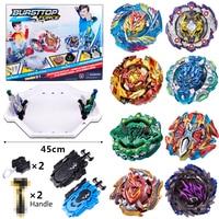 8pcs/set Beyblade Bayblade New Rocker Arm Burst Toys Arena Sale Gyro Disk Bursting Gyroscope Bey Blade Top for Children