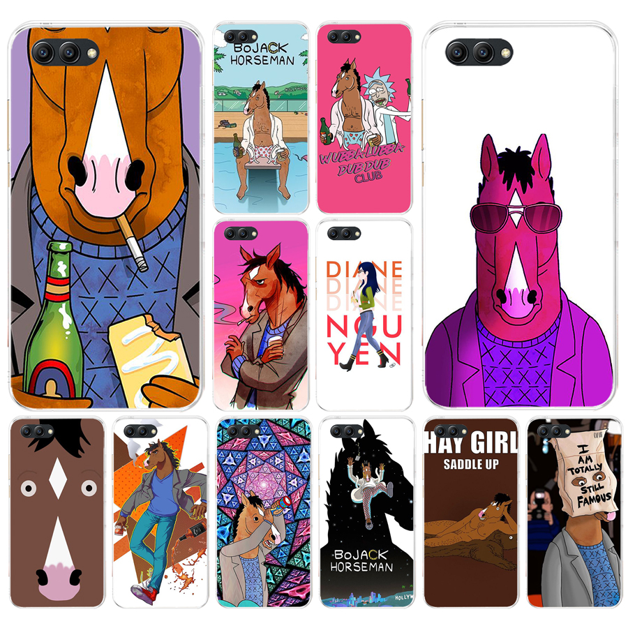 046fg Bojack Horseman Soft Silicone Tpu Cover Case For Honor 9 10 Huawei P10 Lite Y6 Prime 2018 Mate 10 Lite Play P Smart
