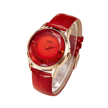 Señoras de la manera vestido reloj automático mujeres butterfly impermeable mujer de cristal polígono reloj analógico reloj de pulsera de cuero de calidad superior