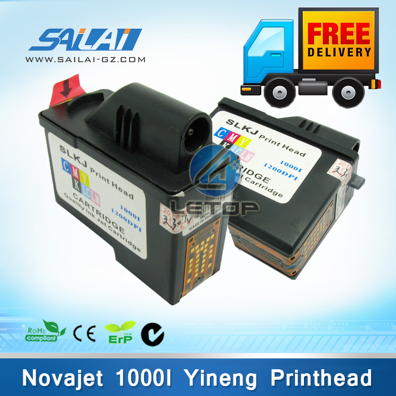Free shipping 5pcs/lot brand new 1000i encad novajet printer yineng print head free shipping 5pcs lot top254en t0p254en offen use laptop p 100% new original