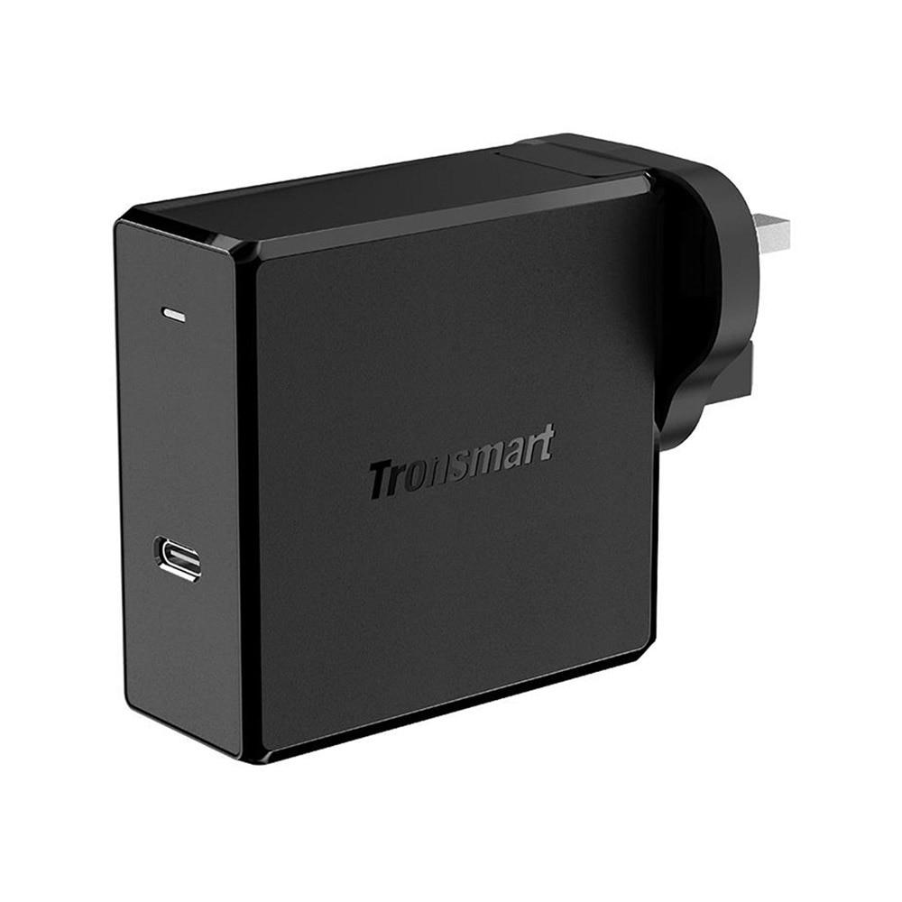 Tronsmart WCP02 настенное зарядное устройство питания 3,0 Беспроводное зарядное устройство 60 Вт Быстрая зарядка зарядное устройство для телефона MacBook зарядное устройство для ноутбука - Тип штекера: Великобритания