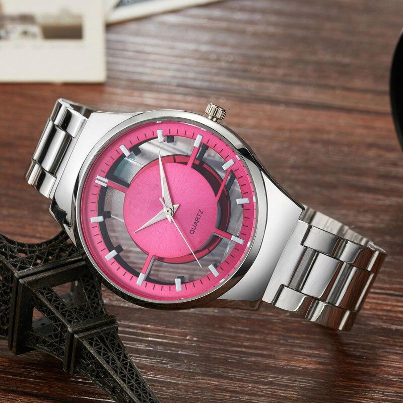 2017 часы Для женщин топ модный бренд Повседневное кварцевые уникальный стильный полые Часы с костями кожа спортивный роскошные дамы наручны...