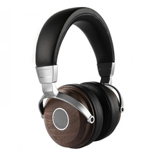 Wooden headphones Noise reduction Stereo natural audio surround sound wired head high headphone