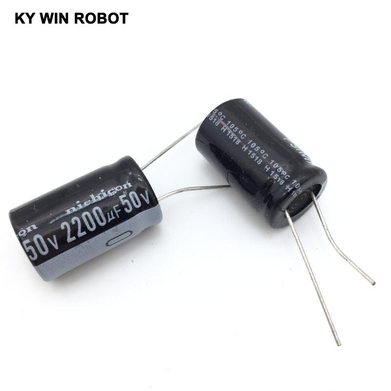 aluminum electrolytic 5pcs/lot 50V 2200UF 16 * 25mm Aluminum electrolytic capacitor (3)