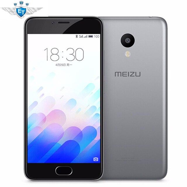 "Оригинальный Meizu M3 Mini 4G LTE Сотовый Телефон MTK MT6750 Octa Ядро 5.0 ""2 ГБ RAM 16 ГБ ROM 13.0MP Камера"