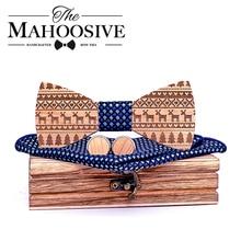 Maple Wooden Bow Ties for Men ties Wood