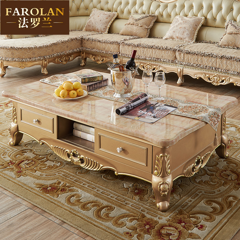 The New French Law European Coffee Table Living Room