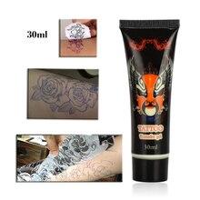 30ml Tattoo Cream Gel Transfer Body Paint Stencil Stuff Oils For Transfer Paper Machine Tattooist Supplies Accessories недорого