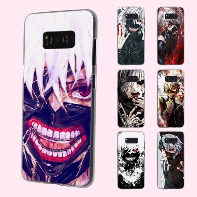low priced 14952 4bea1 US $2.99 |Anime Tokyo Ghoul Kaneki Ken design transparent phone shell Case  for Samsung Galaxy S8 Plus S6 S7edge S5 S4 mini Note 7 5-in Half-wrapped ...