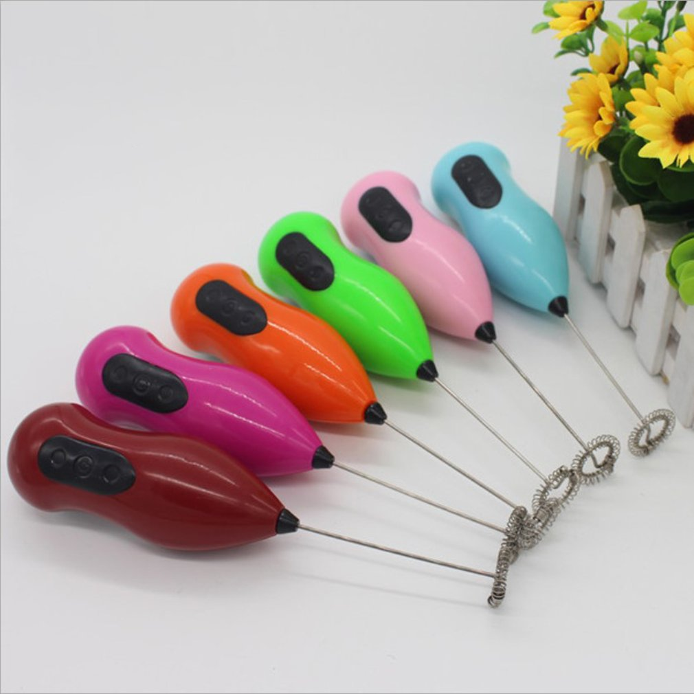Manual Coffee Blender Egg Beater Bubbler Foamer Stir Cereal Baking Kitchen Tools Christmas Party Decoration - 3