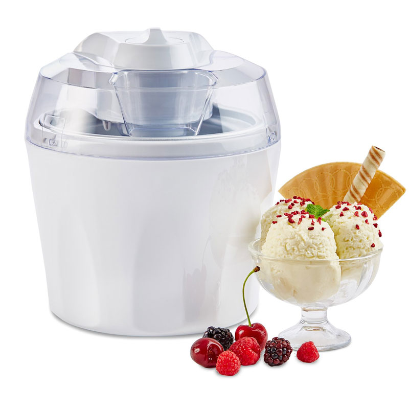 1.5 Litre Ice Cream Maker With Spare Inner Freezer Bowl