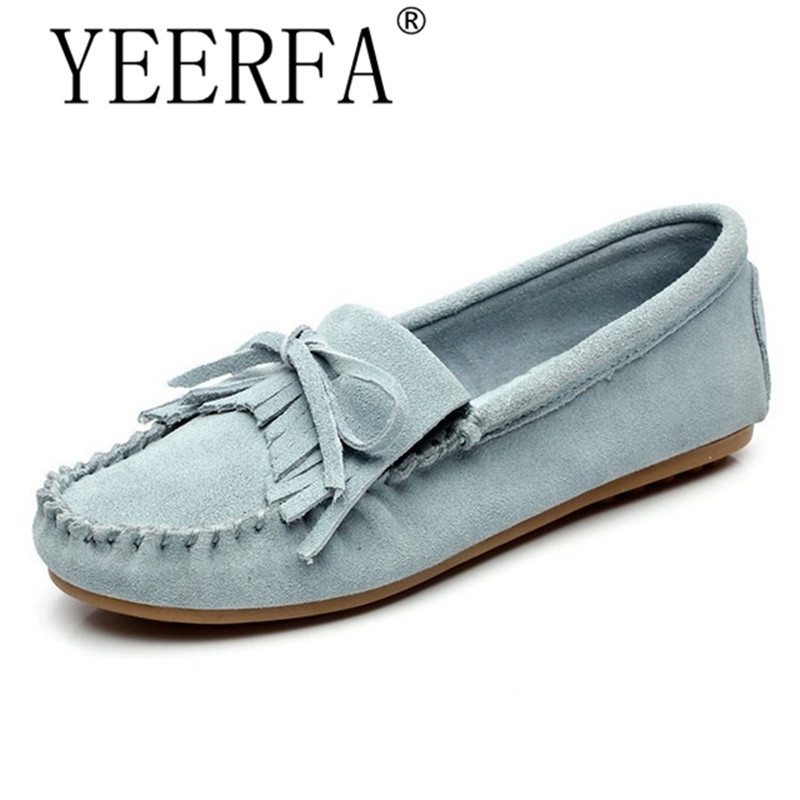 YEERFA Spring autumn Casual Bowtie Loafers Sweet Candy Colors Women Flats Solid Summer Style Shoes Woman 8 Colors Size 35-40 2015 hot sale new spring autumn women flats sweet bowtie casual fashion ladies wedding shoes