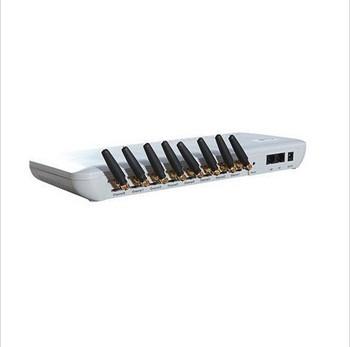 Tanie GOIP-8 8 SIMs kanały GOIP8 GSM SIP brama VoIP-bramka GSM VoIP dla IP PBX 8 SIMs bramka GSM tanie i dobre opinie YANHUI Brama VoIP 32 5*14*6(cm) 12V DC