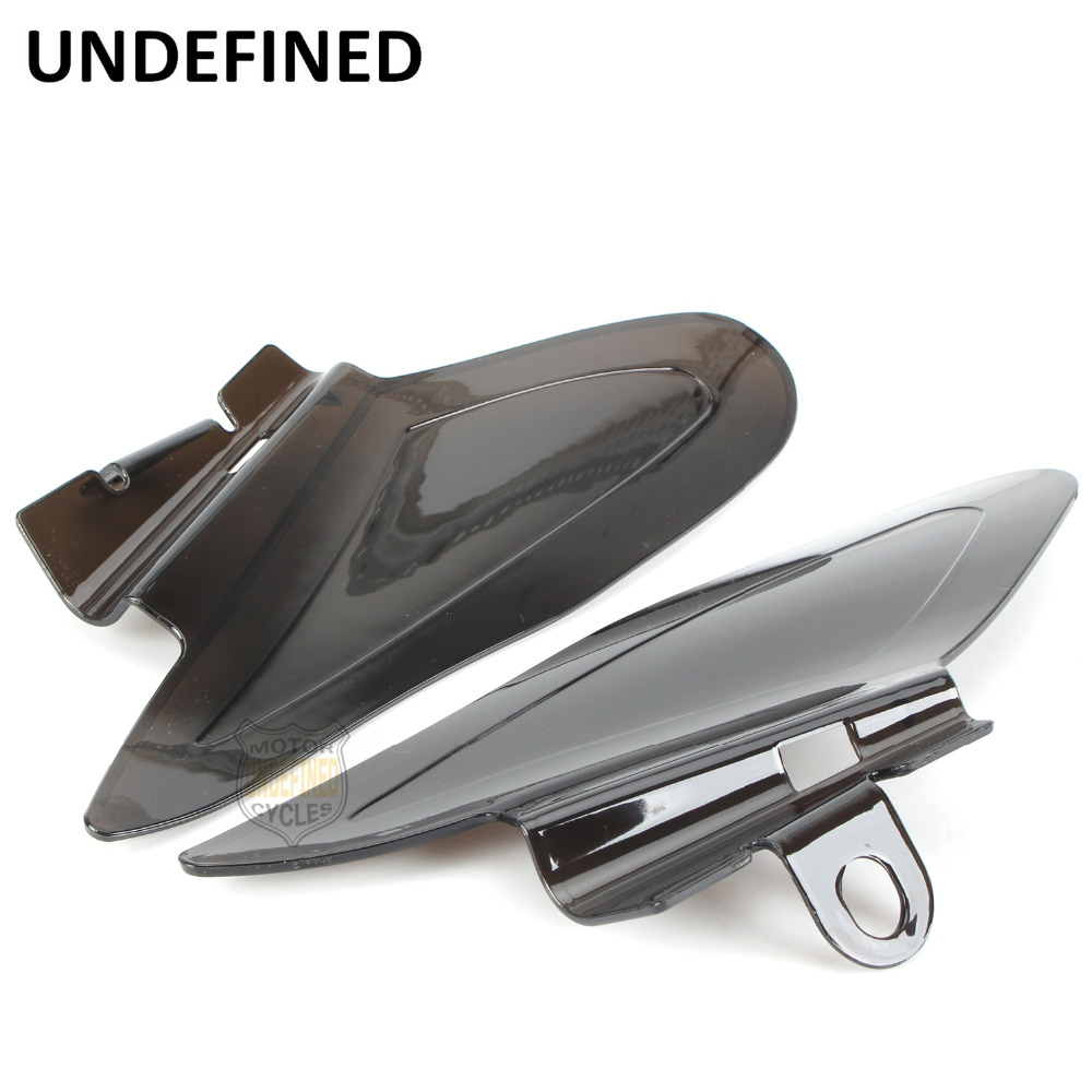 Motorcycle Smoke Saddle Shield Heat Deflectors For Indian Chief Chieftain Springfield 2014 2015 2016 2017 2018