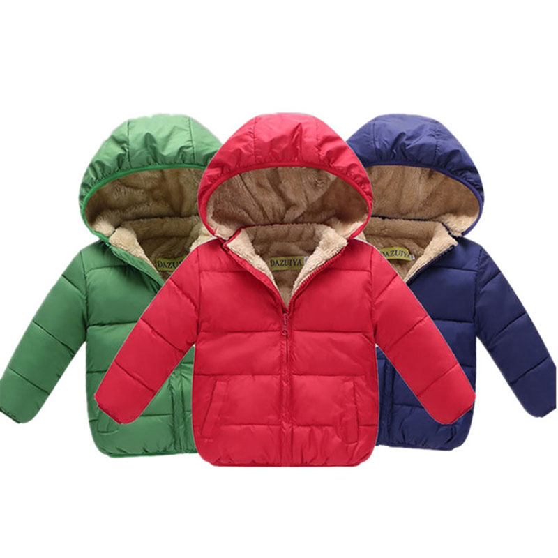 Cold Winter boys / girl baby clothes outfits velvet thick jacket outerwear for little boy / girl baby clothing wind coats parkas winter girl children clothing thick jacket coats for toddler teenage kids girl clothes outfits windbreaker jacket outerwear coat