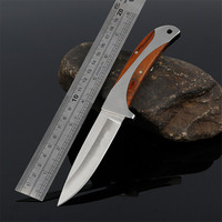 Outdoor Messer Multi Tactical Knife Titanium Survival Knives Camping Faca Couteau Cs Knifes Counter Strike Madera