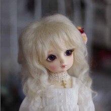 1/4 мохер кукла MSD мальчик короткий путь парик 7- 8 дюймов Jerryberry куклы аксессуары смола кукла аксессуары игрушка волосы
