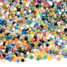 Approx. 1000pcs 2MM Matte Czech Glass Beads for Jewelry Making Miyuki SeedBeads Kralen Rondelle Spacer DIY Craft Bijoux