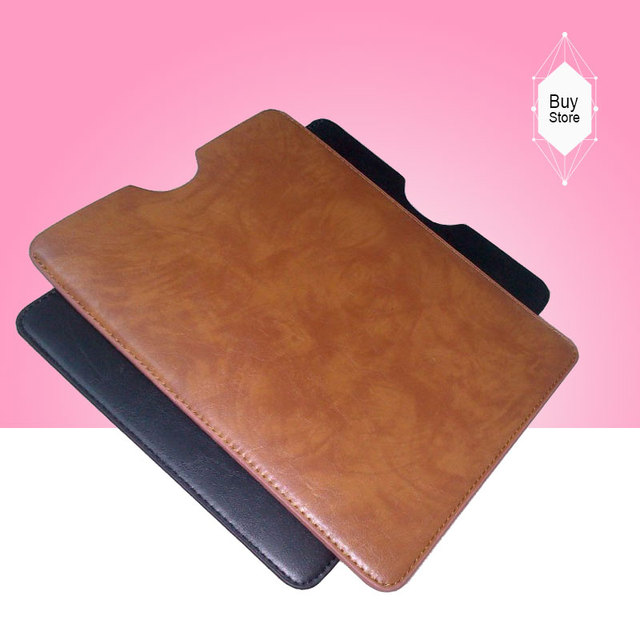 Luxury Business Soft Leather Case Sleeve Bag Pouch For Prestigio MultiPad PMT3057 3G Tablet PC