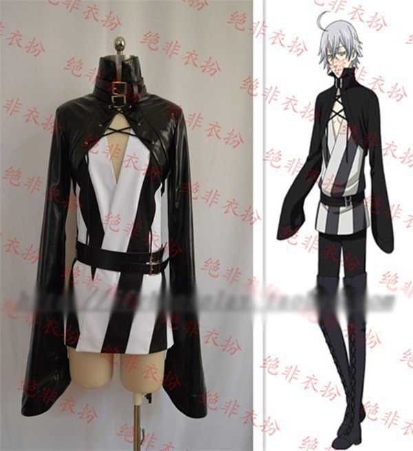 Hot Anime Black Butler Circus Snake Party Cosplay Costume Full Set Free Shipping NEW