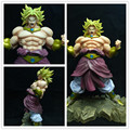 Dragon Ball Z GT Super Saiyan KAI Broly DX Mania Muscular grande PVC Action Figure Boneca Coleção Toy Modelo de Resina Presentes Cosplay