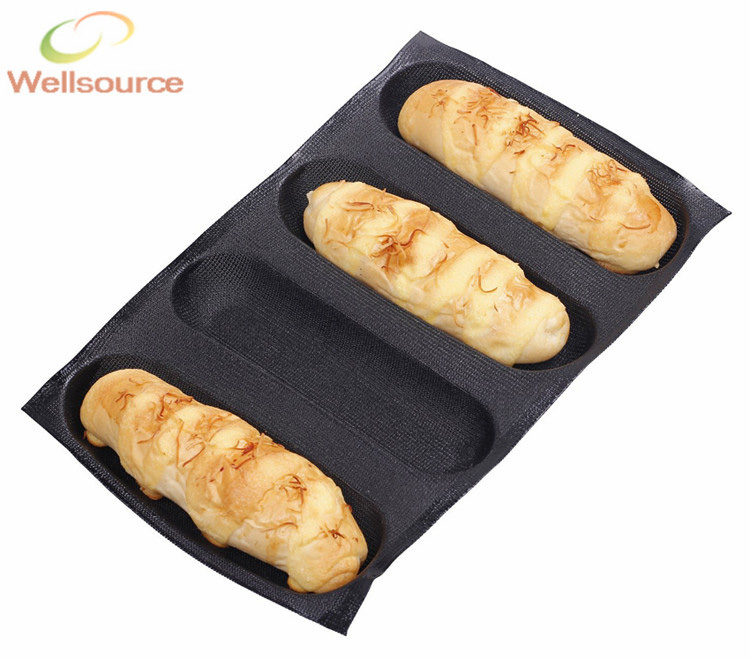 6 7 Inch Bread Roll Baking Pan 4 Loaves Oblong French