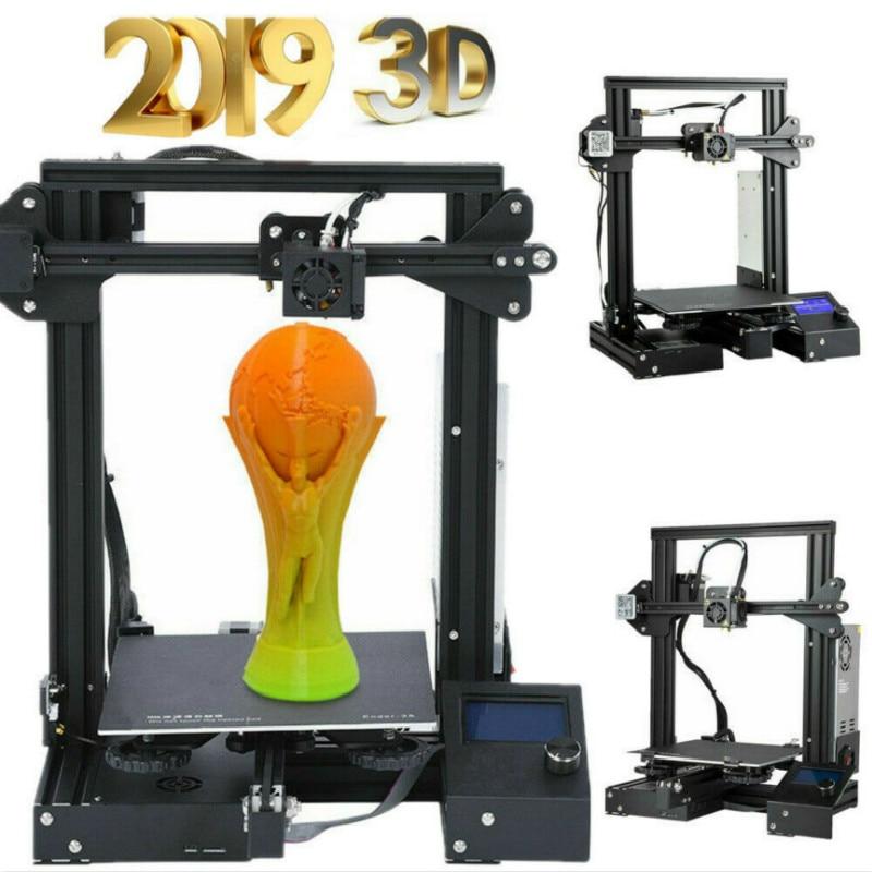 Zrprinting el más nuevo A 13 Kit de bricolaje 3D impresora de gran tamaño I3 mini impresora 3D continuación Impresión de potencia Creality 3D - 2