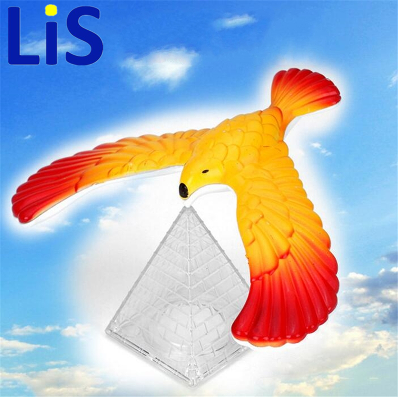 Lis Magic Balancing Bird Science Desk Toy Novelty Fun Learning Gag Christmas Gift