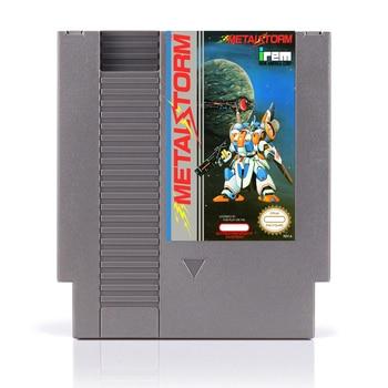 Best sale 72pin 8bit game card 72pins cartridge - Metal Storm 1