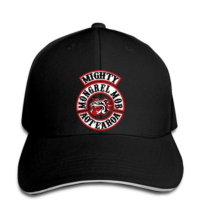 hip hop Baseball caps Mongrel Mob MC Printed Graphic Men hat Black snapback fe368e36ae7