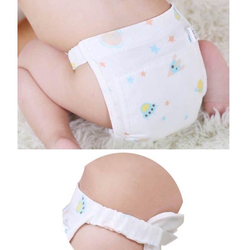 4 pièces couches réglables couche à langer couche à langer bébé tissu couches réutilisables couches lavables nouveau-né enfants couches en tissu