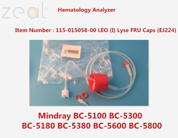 FOR Mindray BC-5100 BC-5300 BC-5180 BC-5380 BC-5600 BC-5800 Hematology Analyzer 115-015058-00 LEO (I) Lyse FRU Caps (EJ224) фото